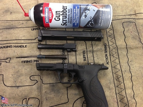 What Is The First Step In Cleaning A Firearm
