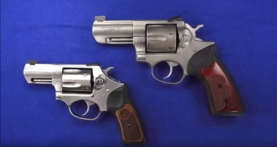 sp101 vs gp100 ruger