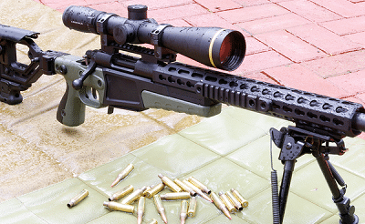 6.5 creedmoor with rifle
