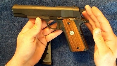 what is the single action gun (1911 Pistol)