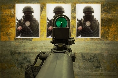 Red Dot Sights in use