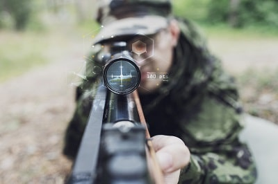 Basic reticle scope