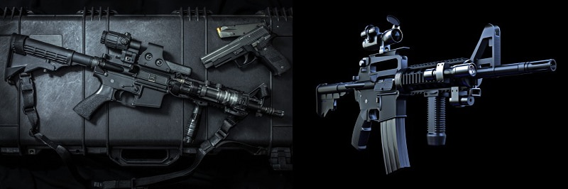 m4 vs ar15- What is different