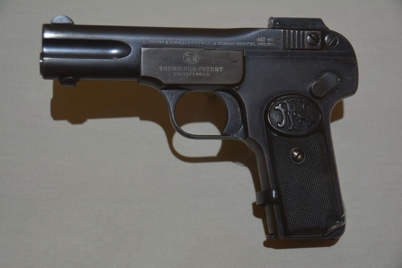 caliber handgun