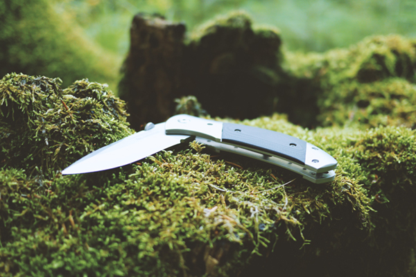 Gray and Knife folding pocket knife
